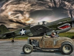 Warhawk P40 & Hot Rod