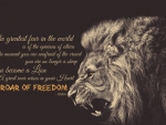 The Roar of Freedom