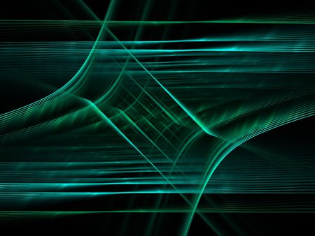 winter wheat - render, fractal, blue, apophysis, dark, abstract, flame, pattern, light, colorful, colored, background, green, fractals, white