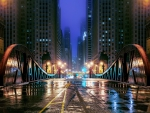 Night in Chicago