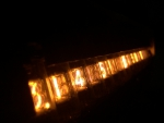 Nixie tube numbers
