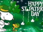 Snoopy Saint Patrick's Day