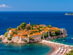 Small Island Village in Montenegro