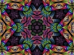 Kaleidoscope Abstract