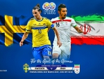 SWEDEN - IRAN INTERNATIONAL FRIENDLY MATCH