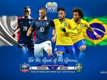 FRANCE - BRAZIL INTERNATIONAL FRIENDLY MATCH