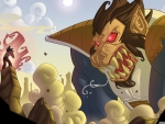 goku vs great ape vegeta