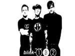 Blink182 Black and White