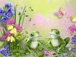 Frogs Love Spring