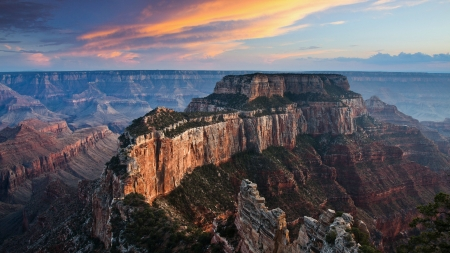 Grand Canyon 1 - Grand Canyon, photography, scenery, landscape, Arizona, photo, nature, wide screen, USA, National Park