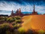 Dunes Of Monument Valley