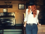 Red Head Cowgirl
