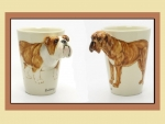 Bulldog Ceramic Cups