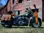 Indian Motorcycles Custom Military Scout