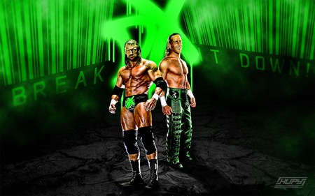 D generation X - dx, wrestling