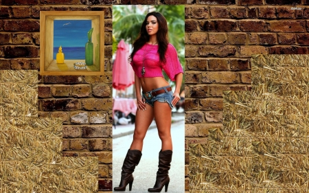 Is It Hot In Here? - Models Female & People Background Wallpapers ...