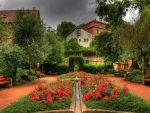 Beautiful garden in Schmalkalden Germany