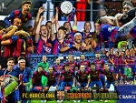 FC BARCELONA CHAMPIONS OF EUROPE 2015