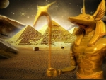 Anubis and Pyramids