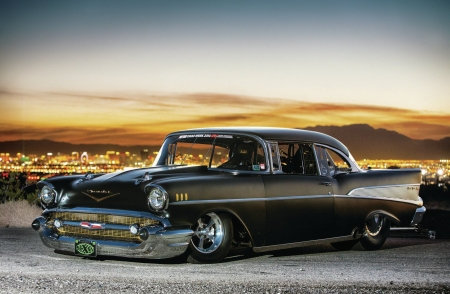 Pro Street 1957 Chevy Chevrolet Amp Cars Background