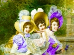 Three Victorian Ladies