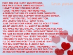 love poems .. love