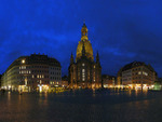 Blue Nights at the Frauenkirche Dresden