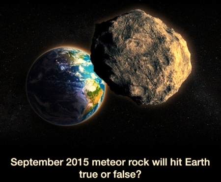 'Is this true or false'????? - earth, space, meteor, doomsday