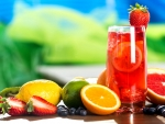 Fresh Fruit Drink