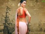 Charmy Kaur In Saree