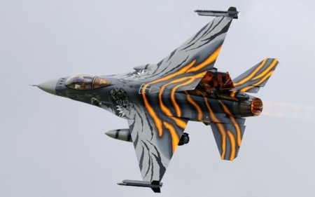 F-16 - great, f16, plain, aircraft