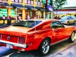 Ford Mustang in HDR