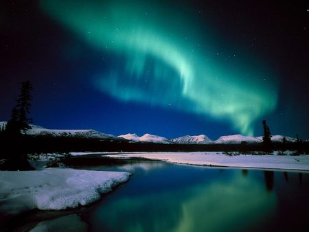 Aurora Borealis / Northern Lights in Canada - canada, northern lights, aurora borealis