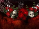 GothicRoses and Spiders