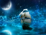 Moonnight Sea Travel