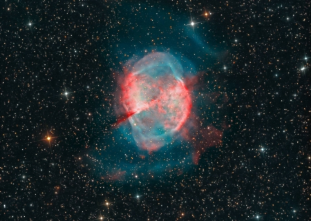 M27 Not a Comet - space, cool, galaxy, stars, fun