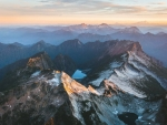 North Cascades sunset