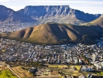 south african city under mighty mountains