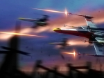 Star Wars X-Wing Fighters