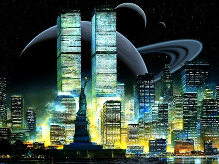 Old new york 3d and cg abstract background wallpapers for New york 3d wallpaper