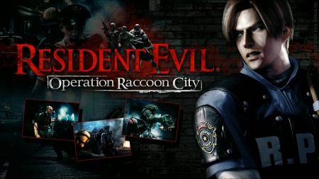 Resident Evil Operation Raccoon City - Alice, The Walking Dead, Albert Wesker, Leon S Kennedy