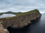 Sorvagsvatn Lake in  Faroe Islands