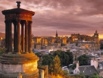 Stewart-Monument-Calton-Hill-Edinburgh-Scotland