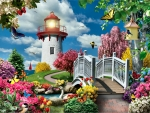 Spring Lighthouse F2