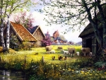 Springtime Countryside