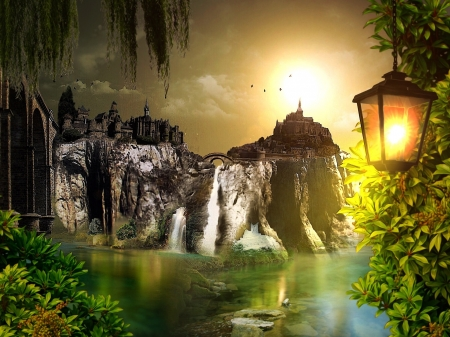 Mystical Castle - Fantasy & Abstract Background Wallpapers ...