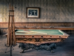billiards table hdr