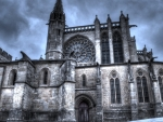 basilica of st nazaire in france hdr