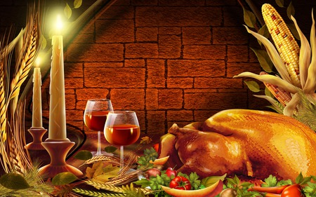 Thanksgiving Dinner - holidays, occasions, dinner, thanksgiving, people