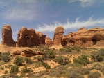 Herd of Elephants, Double Arch, Moab, Utah